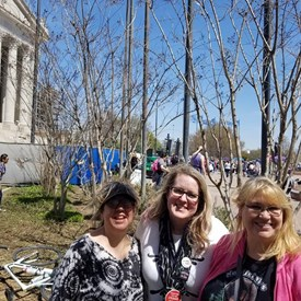 2018 Teacher Walkout, State Capitol, OKC(4/2018)