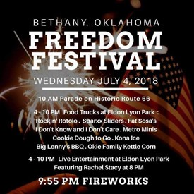The Freedom Festival (July 4, 2018).