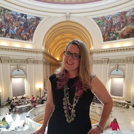 Sarah Carnes is ready to represent HD 47 citizens at the State Capitol.