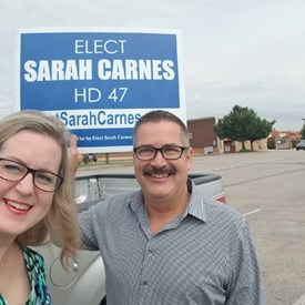 Sarah Carnes and Steven Vincent (June 8, 2018).