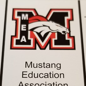 Mustang Education Association at Mustang High School New Hire Orientation (August 9, 2018).