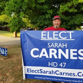 "Keep an eye out for my HUGE banners and give us a wave ""Hello"" when you see the team around HD 47 (6/20/2018)."
