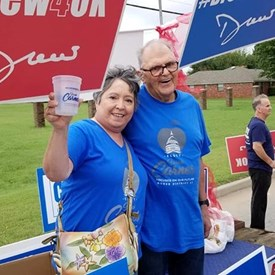 2018 Western Days Canadian County Democrats Exhibit, Mustang, OK (9/08/2018).