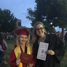 Mustang High School Graduation, Norman (5/18/2018).  Congratulations Lauren Smith!