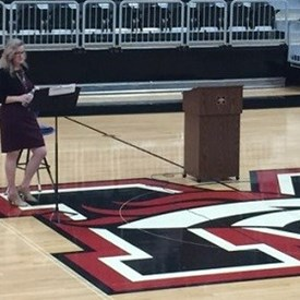 Sarah Carnes shared her education strategies and solutions at the Mustang Public Schools HD 47 Candidate Education Forum (5/22/2018)
