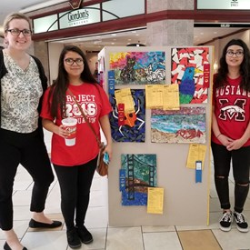 Industrial Arts Competition, Quail Springs Mall, OKC (5/11/2018)