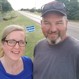 Sarah and Jeramy Carnes, Tuttle (6/21/2018).