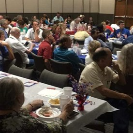 Canadian County Democrats Fiesta and Candidate Forum, El Reno (July 21, 2018).