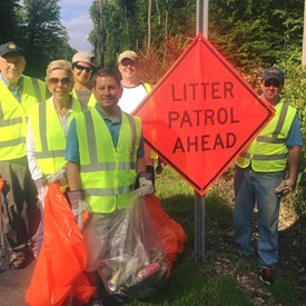 Did anyone catch John Surano out on Route 202 during the July 21st weekend with the Rotary Club of Bernardsville Serving Somerset Hills NJ's Adopt-A-Highway?