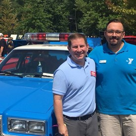 John took part in the Rotary Club and the Somerset Hills YMCA's 3rd Annual Classic Car Show & Family Fun Fest.