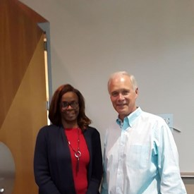 Photo with US Senator Ron Johnson (WI)