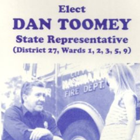 My political handcard for my previous run for State Rep.  I ran and won in the former multi-ward district that covered Nashua wards 1, 2, 3, 5, 9.