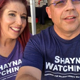 Wearing my new Shayna Watchinski t-shirt