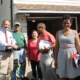 A beautiful day in the neighborhood--meeting residents looking for integrity, independence, and experience.