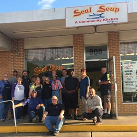 Visting Soul Soup in DeRidder.