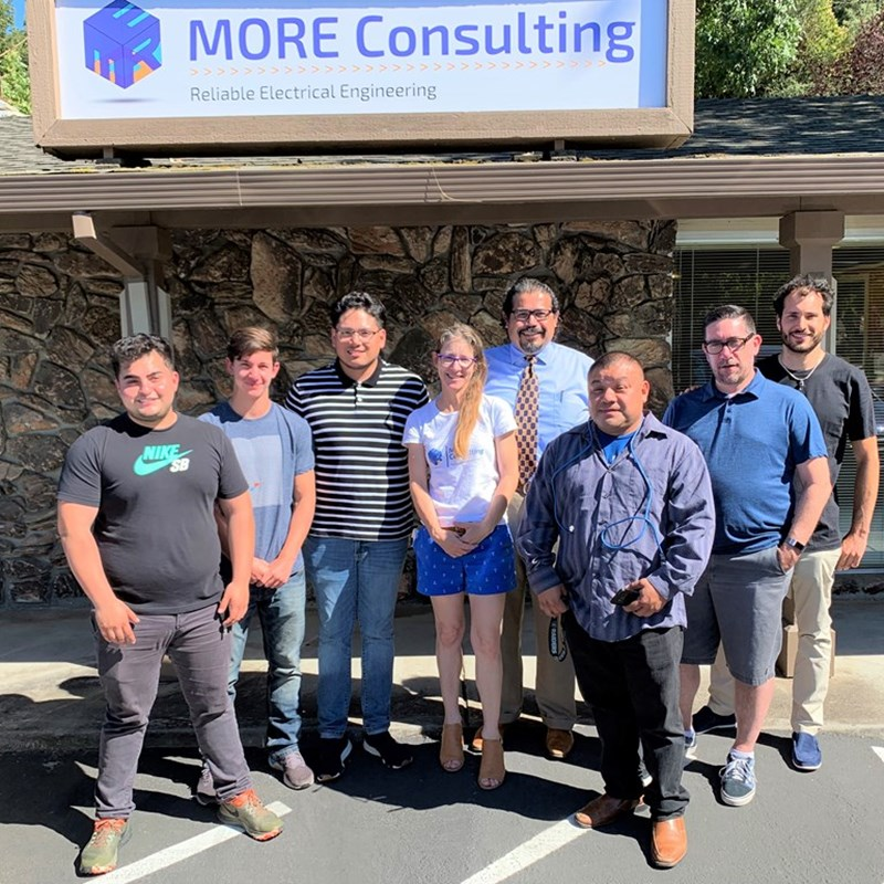 The MORE Consulting team moving into our storefront July 2019.