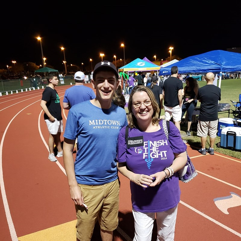 Relay for Life 2019. Walking as a survivor (skin cancer) and a caregiver for my husband (thyroid cancer), in honor of my uncle who lost his battle to cancer, and for so many other friends and loved ones who are currently battling this horrible disease.