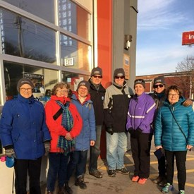 "In 2018,Pauline Captained a ""Hot to Trot"" team of councillors from Kings County, Kentville an Wolfville in Coldest Night of the Year. It was the top earning team for Open Arms, Annapolis Valley and raised the most funds of any municipal team in Canada."