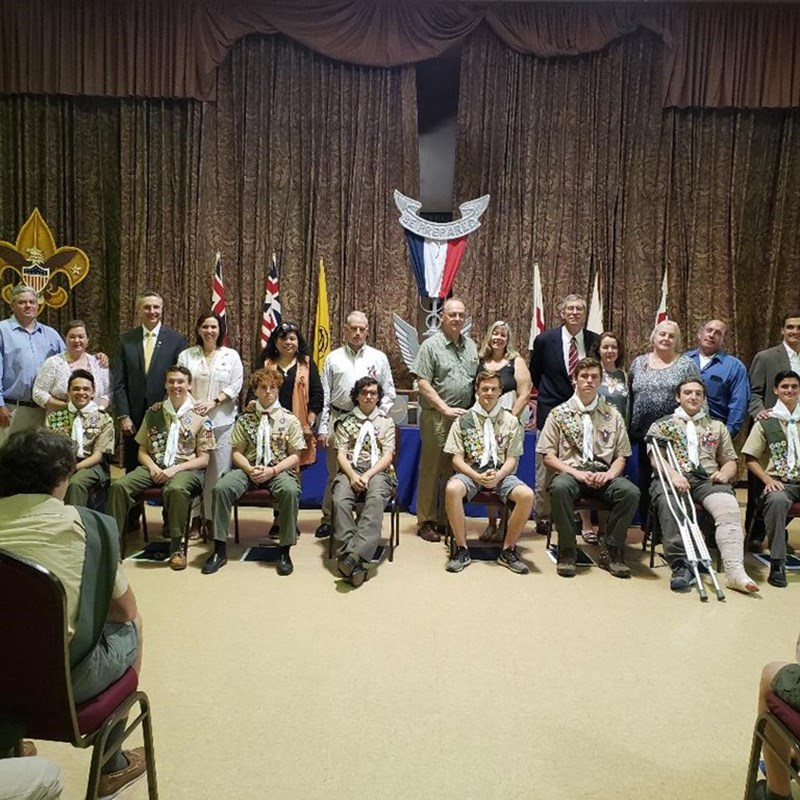 Wading River Boy Scout Troop #161 Eagle Scout Honoree