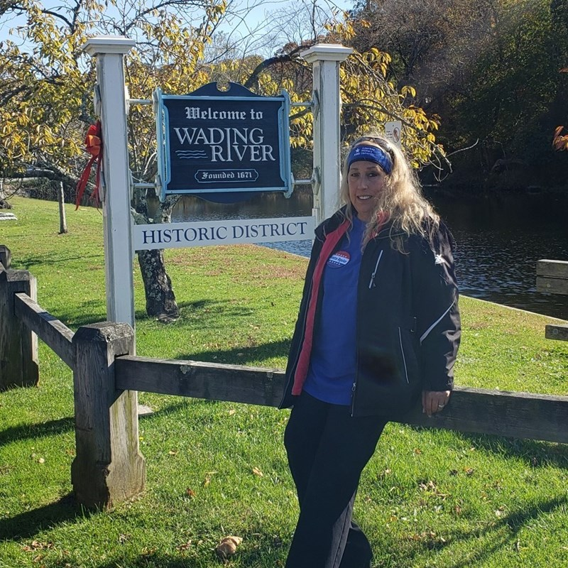 At the Wading River Fall Festival.