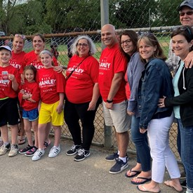 Bill hosted a Healthy Waltham Walk at Lazazzero Park on June 6, 2019.