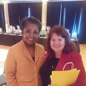Me and Carol Swain, my choice for our next Mayor of Nashville, at Pro-Life Day on Capitol Hill, April 2019.