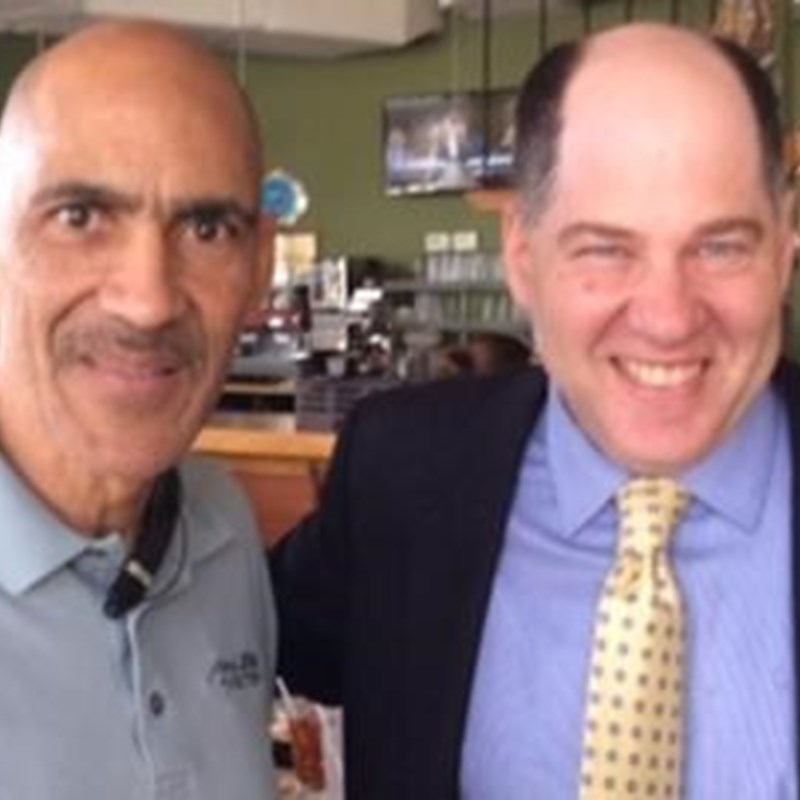 Gary with Tony Dungy, considered one of the brightest minds in the NFL, Dungy landed his first head coaching opportunity in 1996, when the Tampa Bay Buccaneers tapped him to lead the club.