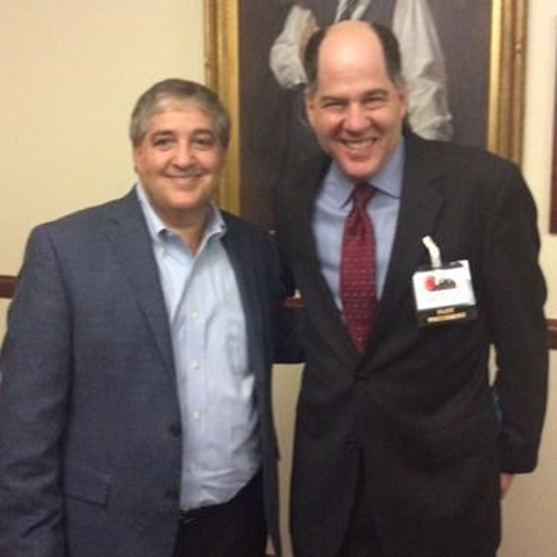 Gary with Jeff Vinik, owner of the Tampa Bay Lightning and the Tampa Bay Storm, as well as a minority owner of the Boston Red Sox. He is also on the board of directors for Liverpool Football Club of the Premier League