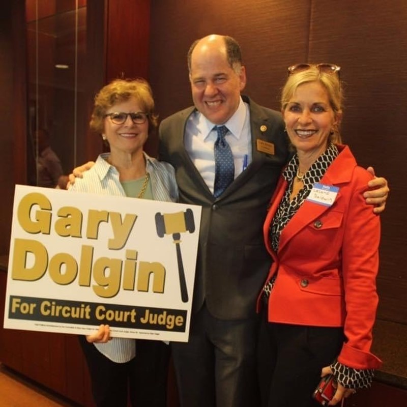 Gary with former City Councilwoman and County Commissioner, Rose Ferlita and attorney Leland Baldwin. Gary is proud to have Rose's endorsement. Leland's father was Gary's law school professor.
