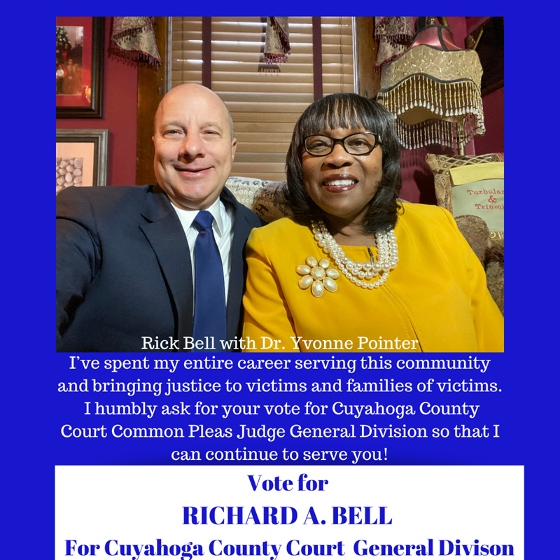 Dr. Yvonne Pointer endorses Richard A. Bell for Judge