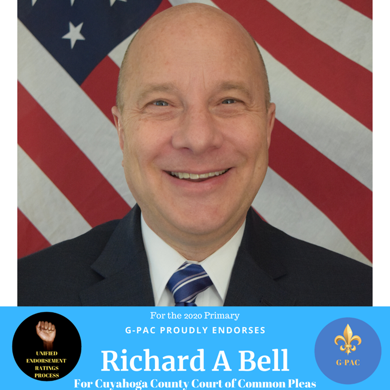Thank you G-PAC for your endorsement for Richard A. Bell for Judge