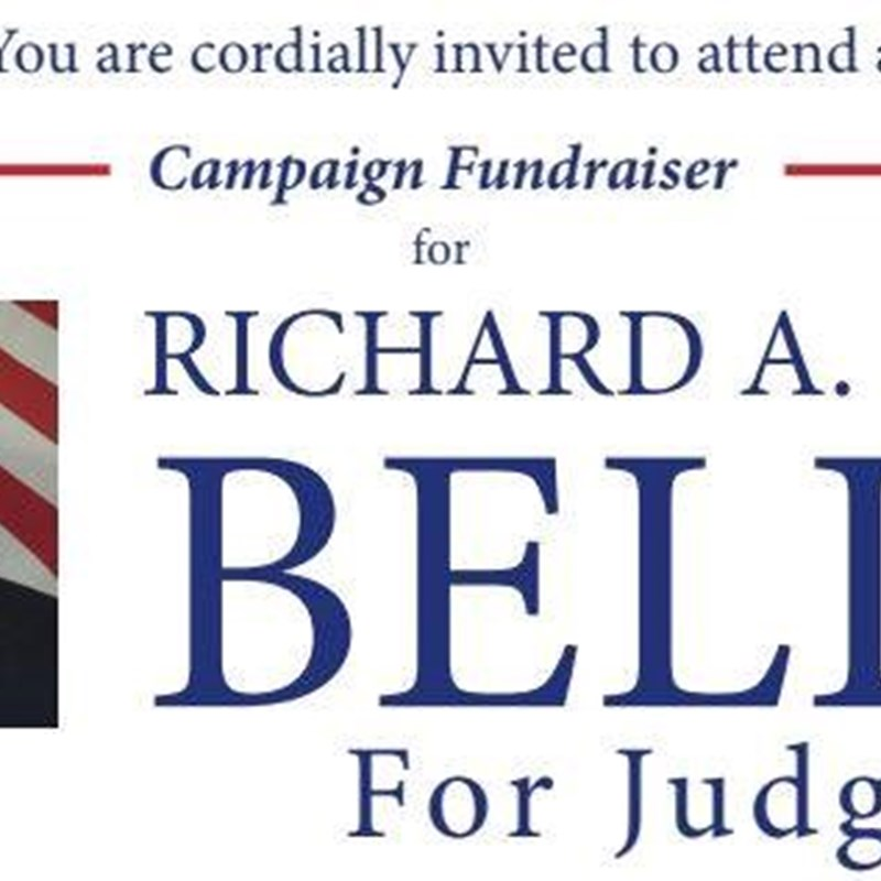"Come out to The Barley House Cleveland from 5Pm to 7Pm to help support Richard Bell in his campaign.   You are cordially invited to attend a Campaign Fundraiser for Richard ""Rick"" Bell for Judge.  Join Host Committee:  Congresswoman Marcia L. Fudge County Executive Armond Budish State Rep. Phil Robinson State Rep. Juanita Brent State Rep. Kent Smith Mayor Ed Kraus, Solon Mayor Georgine Welo, South Euclid Mayor Stan Koci, Bedford Mayor Vic Collova, Garfield Hts. Councilman Paul Marnecheck, North Royalton Colleen C. Day, State Cenral Committeewoman Dave Wondolowski, Broadview Hts. City Leader Dean DePiero Tom Day Bill Mason Mark Schneider  Suggested Contributions:  $50 