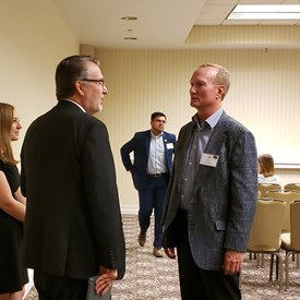 Lieutenant Governor Lynn Wayne Rogers with Kansas House District 114 Representative Candidate Jeff Stroberg