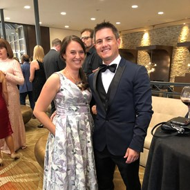 Rob and his wife Michelle attending Saturday Night Alive to support the Denver Center for Performing Arts.