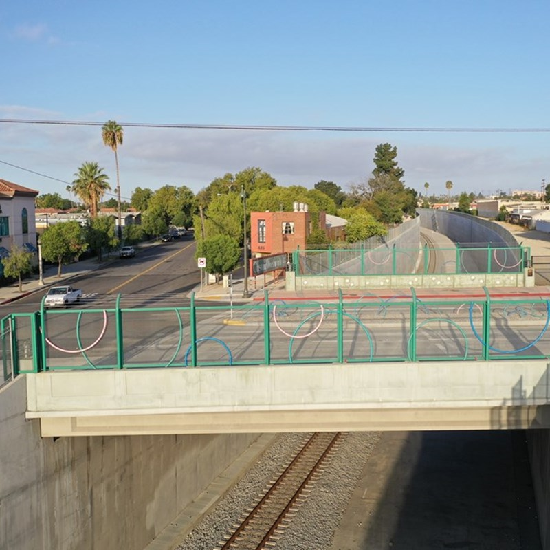 San Gabriel Boulevard Bridge over the ACE Trench