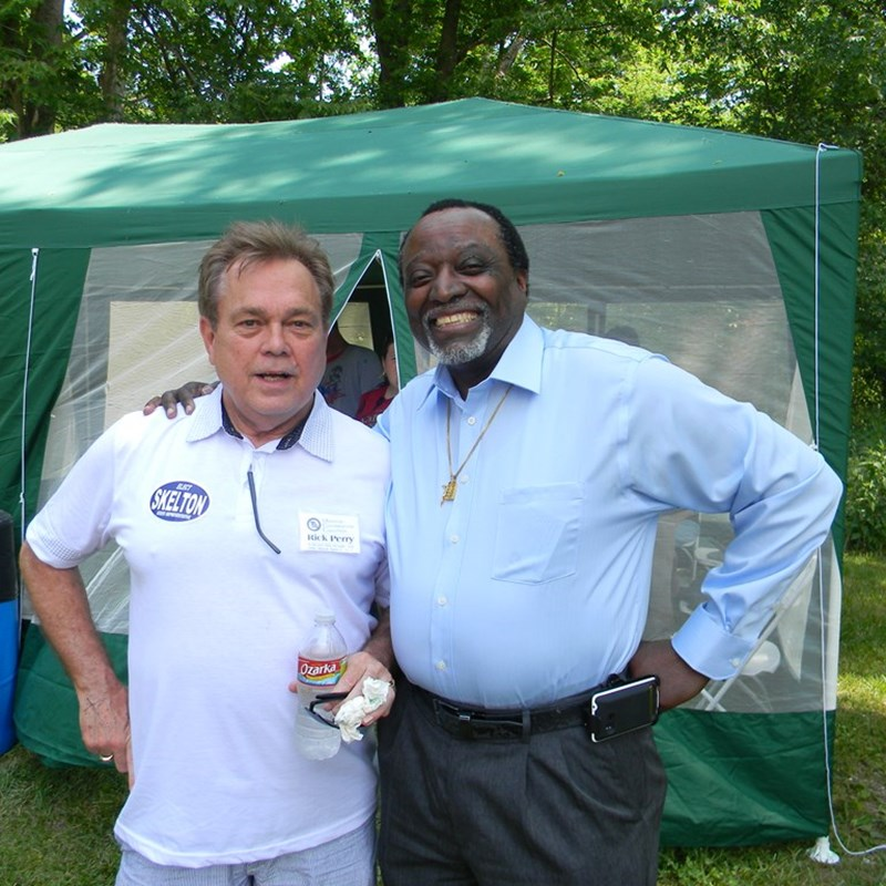 With Conservative Activist Alan Keyes