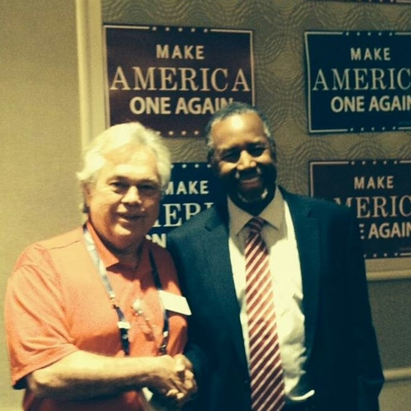 With Dr. Ben Carson
