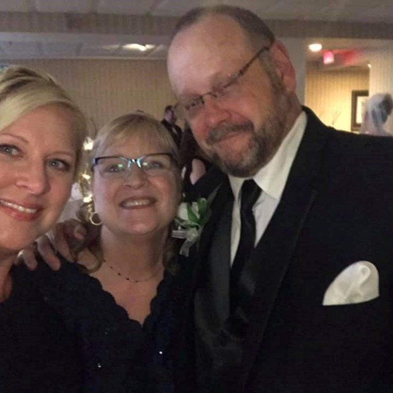 Father of the Bride June 1, 2019 with Nancy and daughter Casey