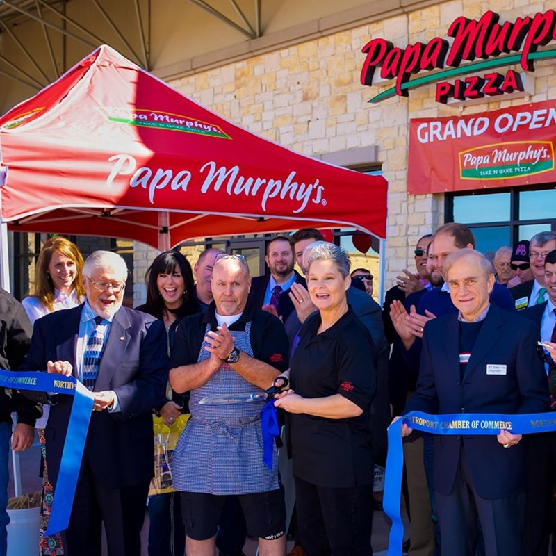 Papa Murphy's Ribbon Cutting for the Grand Opening