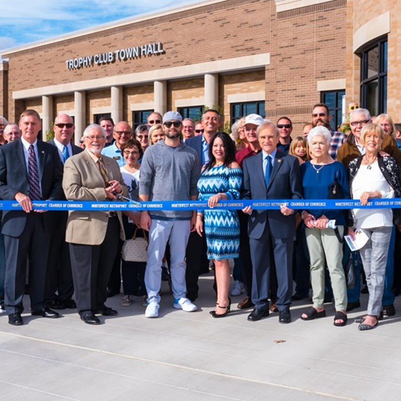 Ribbon Cutting of the New Town Hall and Police Facility