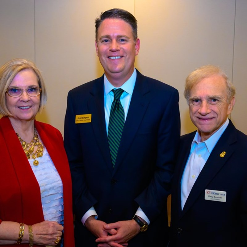 With Denton County Commissioner Dianne Edmondson and Judge Joshua Burgess who was the Federal Prosecutor in the SouthLake Cartel Murder Case