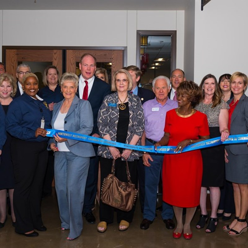 Denton County Courthouse Ribbon Cutting in Argyle