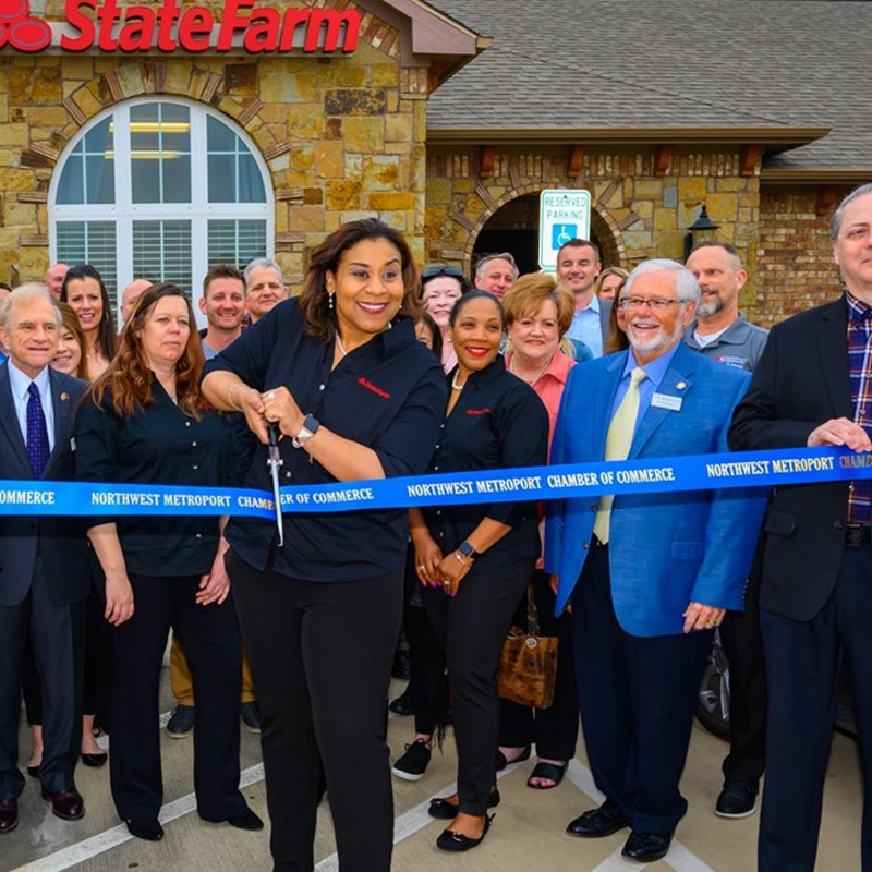State Farm Ribbon Cutting for their Grand Opening
