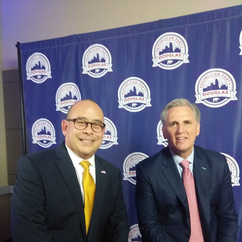 U.S. Congressman and Republican Minority Leader Kevin McCarthy at Elephant Remembers event