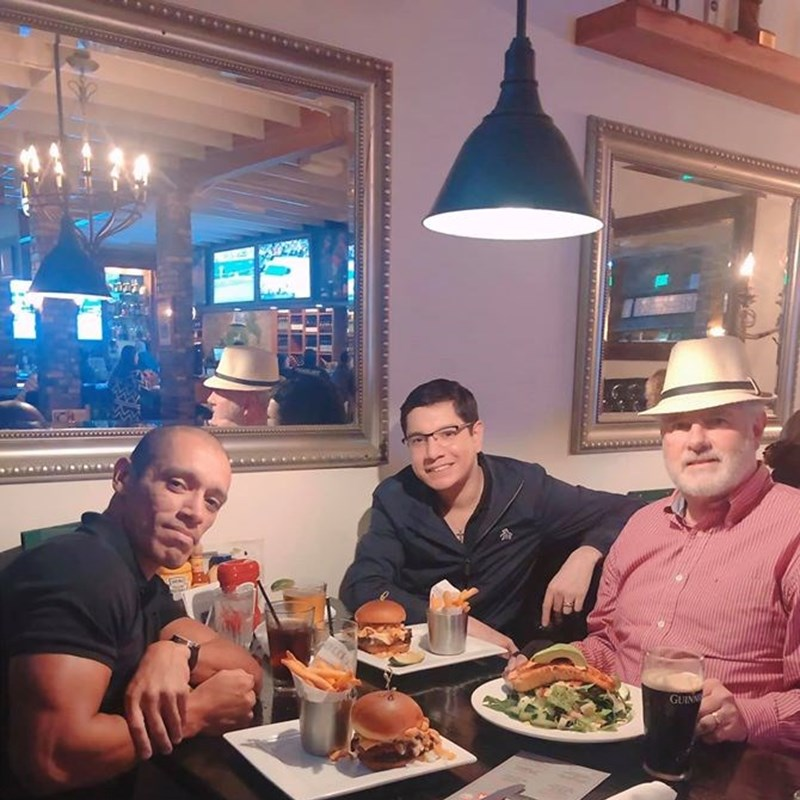 Hennessey's Tavern, one of Cost Mesa's newest restaurants. The food is great and the service is excellent. Let's support a new local business.