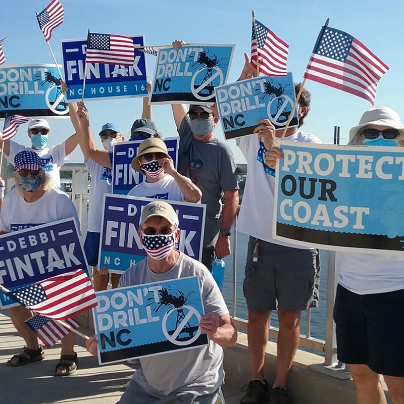 July 4th Bridge Walk in Surf City, NC. Protect our Coast, better together!