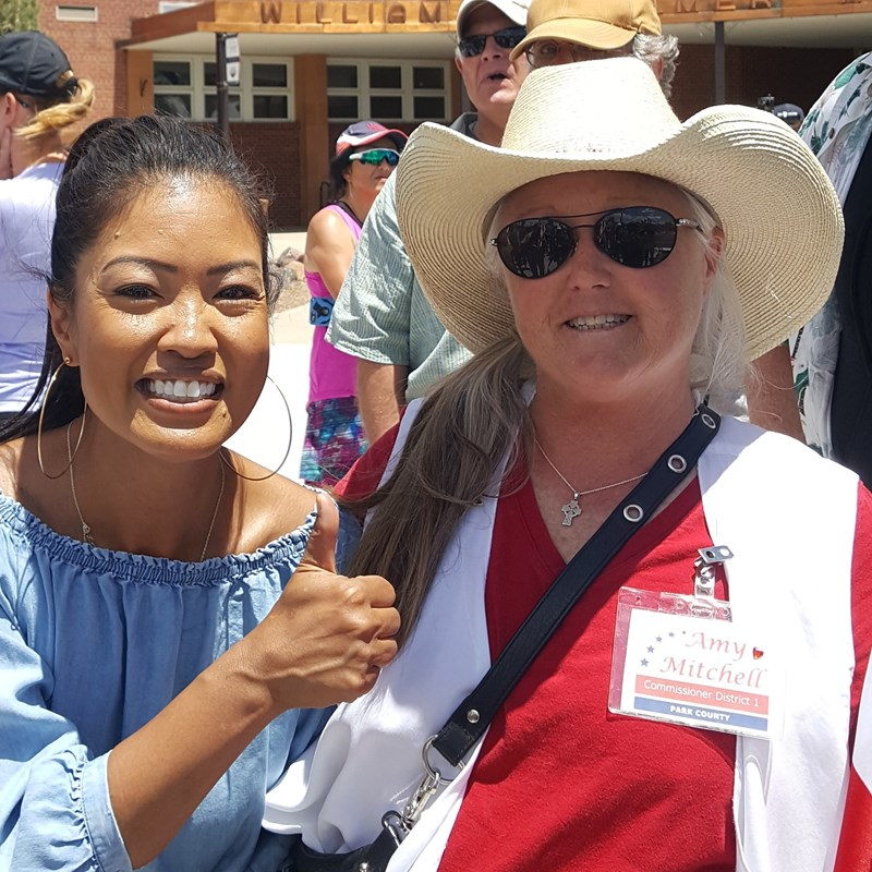 Sunday June 14, Defend our Monuments rally hosted by Michelle Malkin. Michelle endorsed Amy Mitchell for Commissioner!