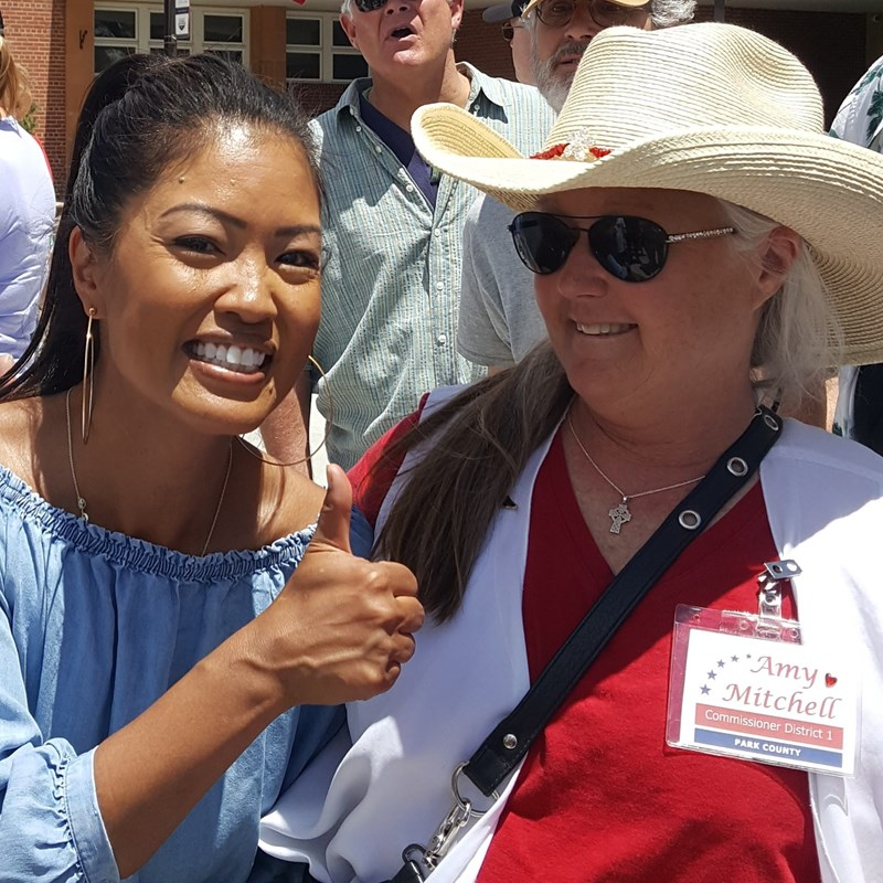 Sunday June 14th, Flag Day, attended the Defend our Monuments rally hosted by Michelle Malkin in Colorado Springs. My pleasure, Michelle endorsed my campaign.
