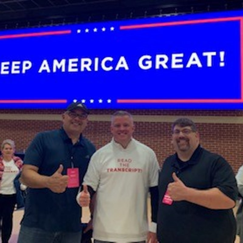 KEEP AMERICA GREAT!  It was awesome to be at the Trump rally in Rupp Arena!
