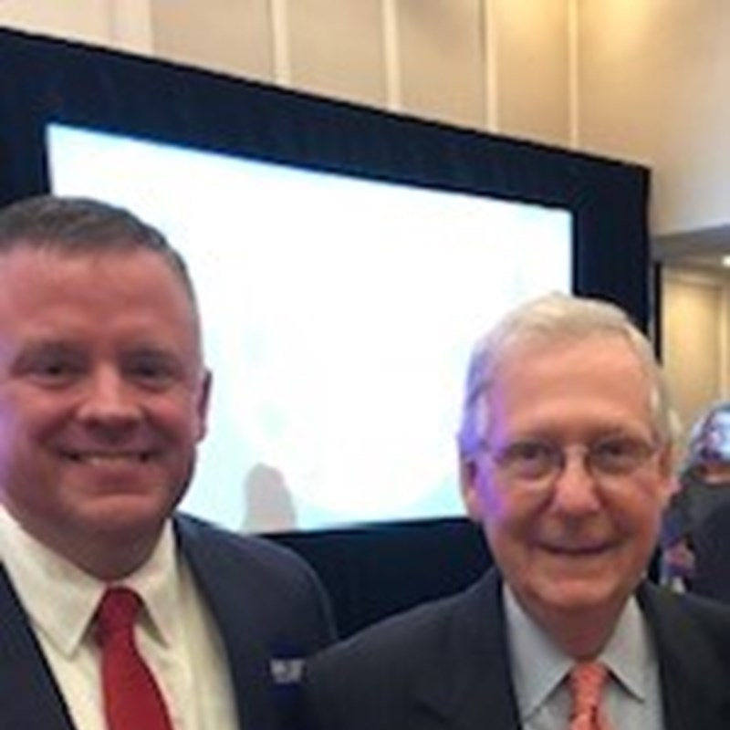 Senator Mitch McConnell and I